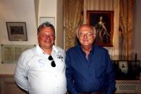 10 июля 2012 года - Владимир Косма, французский музыкант и композитор, посетил Музей Русской Водки и ресторан