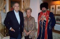 Дмитрий Романович Романов (глава 'Дома Романовых') с женой Феодорой (Доррит) Ревентлов